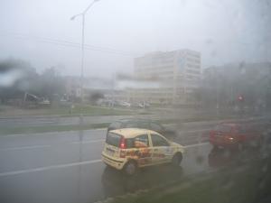 Brno Stellplatz Regen