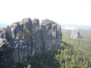 Elbsandsteingebirge Schrammsteine