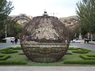 Mehr skurille Skulpturen