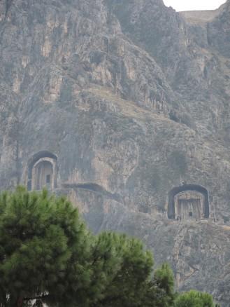 Amasya Gräber und Lage