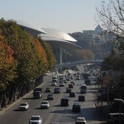 Blick auf das Verwaltungsgebäude