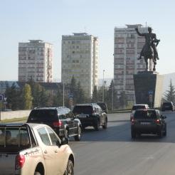 Stadteinfahrt von Norden