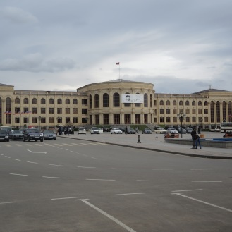 Sozialistischer Paradeplatz, Zentraler Platz