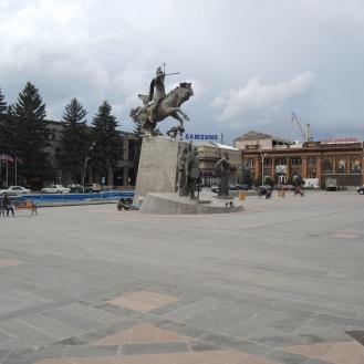 Dynamisches Reiterdenkmal
