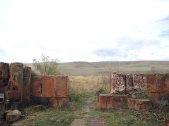 Blick aus dem Klosterelände